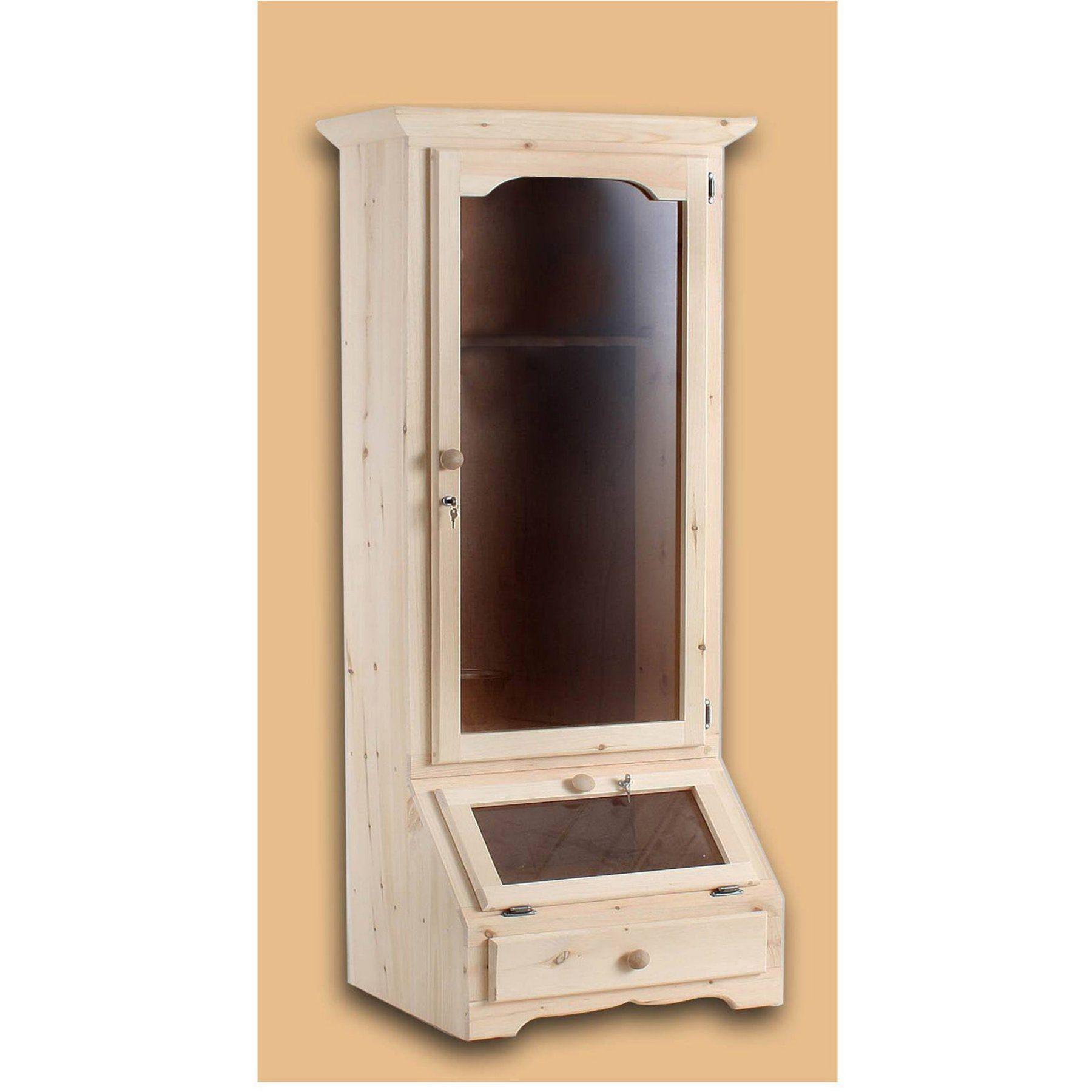 Chelsea home furniture canton gun single door cabinet