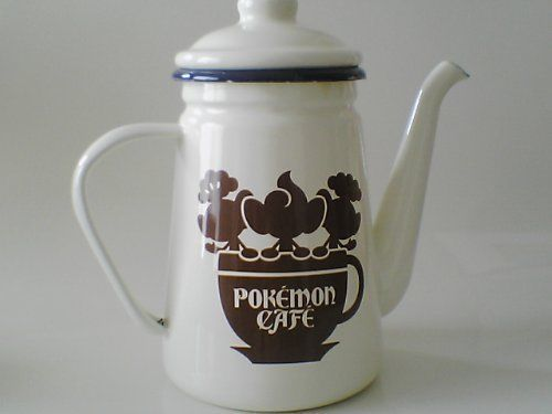Pokemon Center Enamel teapot Pokemon Cafe .shopper plastic bag With gifts…
