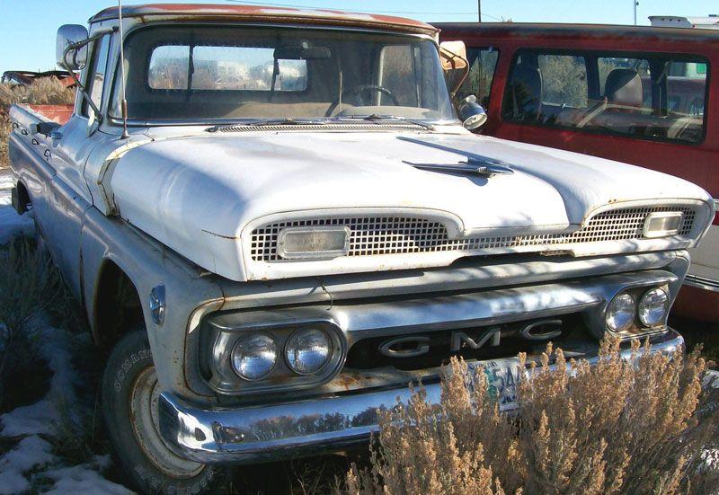 1961 Gmc Series 1000 1 2 Ton Wideside Pickup Classic Pickup