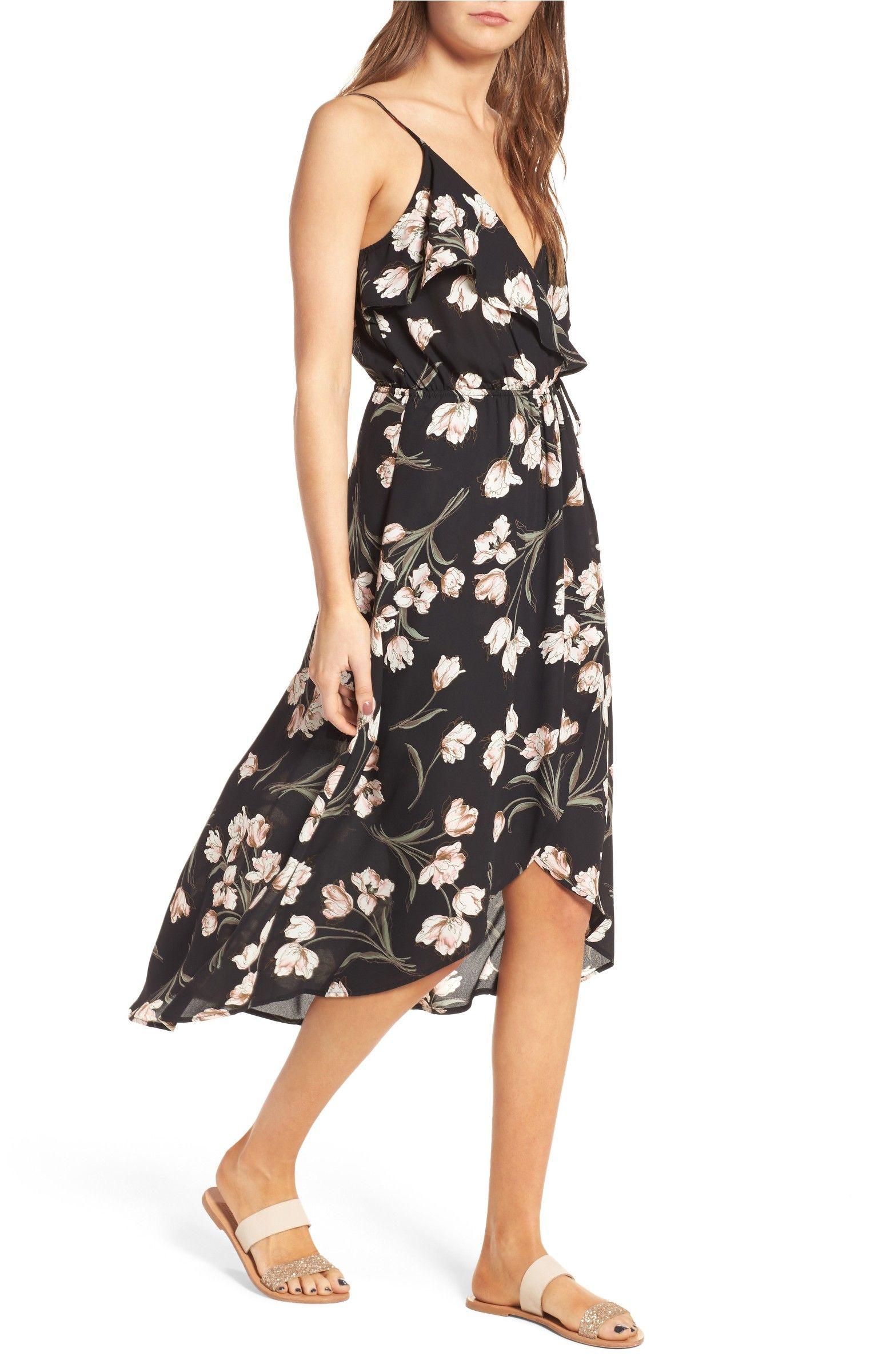 12d861acc Main Image - Soprano Ruffle Surplice Dress | Fashion | Dresses ...