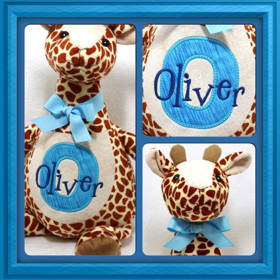 Personalized baby gift giraffe stuffed toy new baby me personalized baby gift giraffe stuffed toy new baby negle Gallery