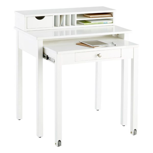Desk With Pull Out Work Surface Design Ideas