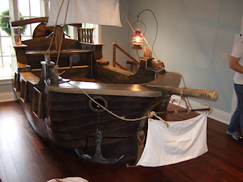 What are pirate ship beds?