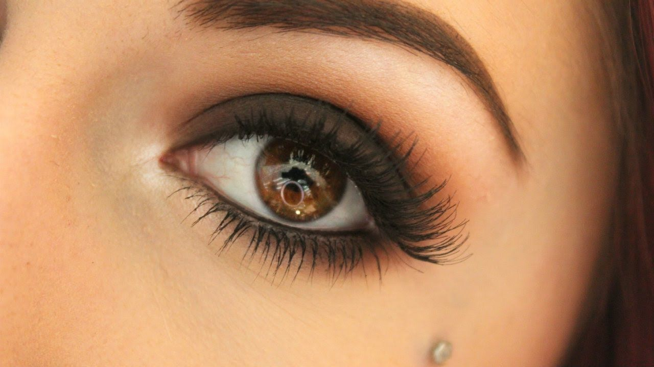 Dark Matte Brown Smokey Eye Warm Neutrals Smokey Eye For Brown