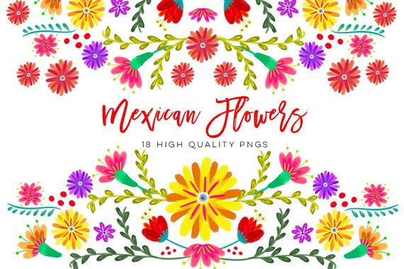Mexicano Acuarela Floral Clipart Flores Fiesta Clip Art Cinco De Mayo Clip Art Colorido Mexicano Clip Art Mexicano Floral Clipart In 2021 Clip Art Floral Watercolor Book Cover Invitation