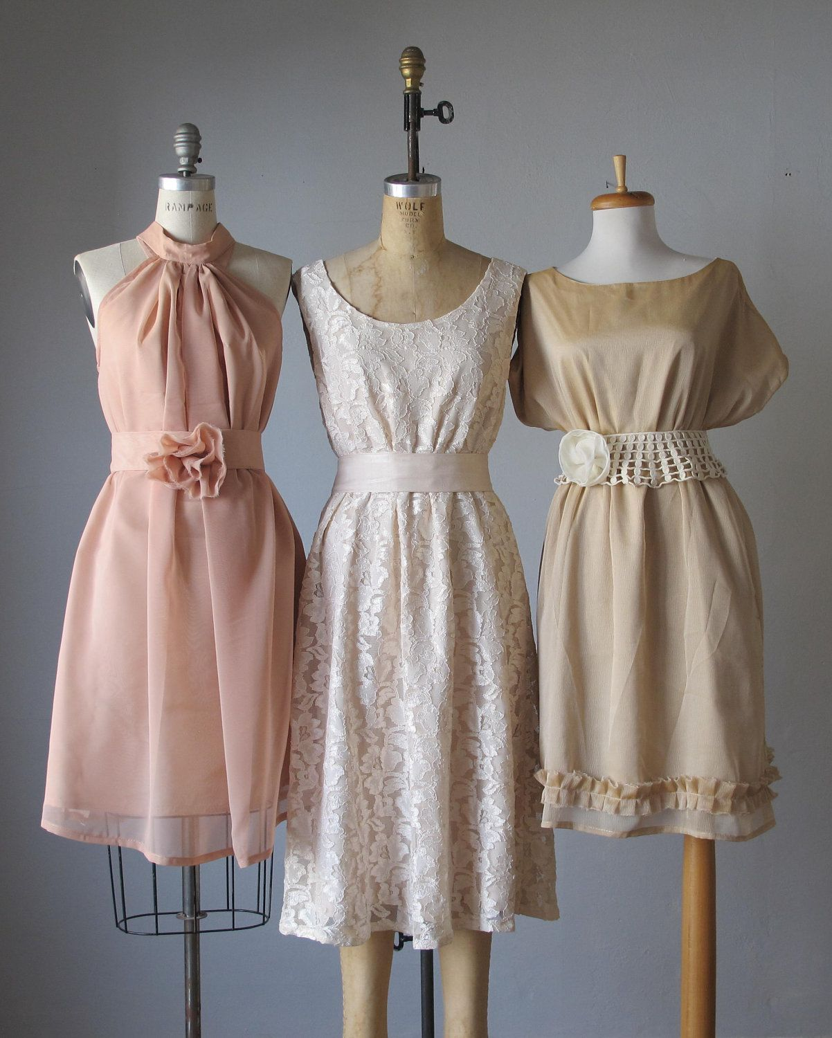 mismatched bridesmaid dresses / Dress / Bridesmaid ...