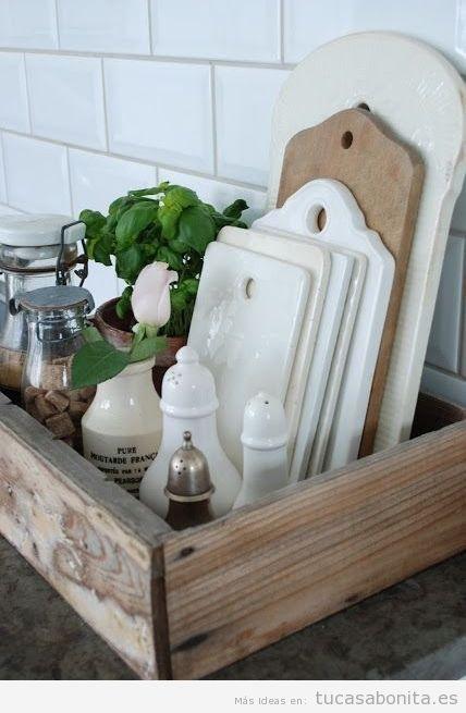 Ideas de decoracin barata y chic para la cocina 5 Cocinas