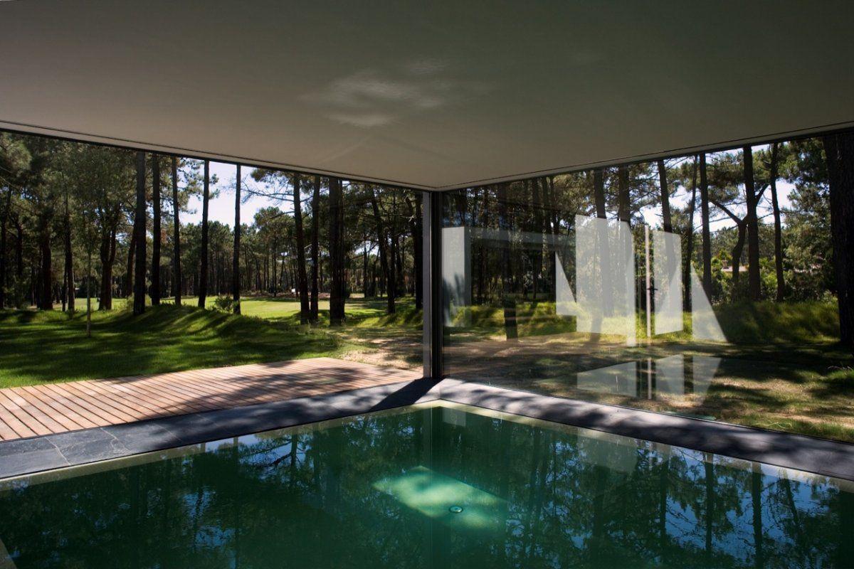 Swimming Pool Indoor With Glass Walls Indoor Pool Design Indoor