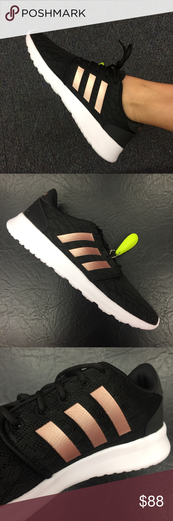 wholesale dealer 108cd 08df5 Adidas Cloudfoam QT Racer Womens Running Shoe!! brand new in original  box!!! Extra comfy, sleek and ready to run, the Adidas Cloudfoam QT Racer  womens ...