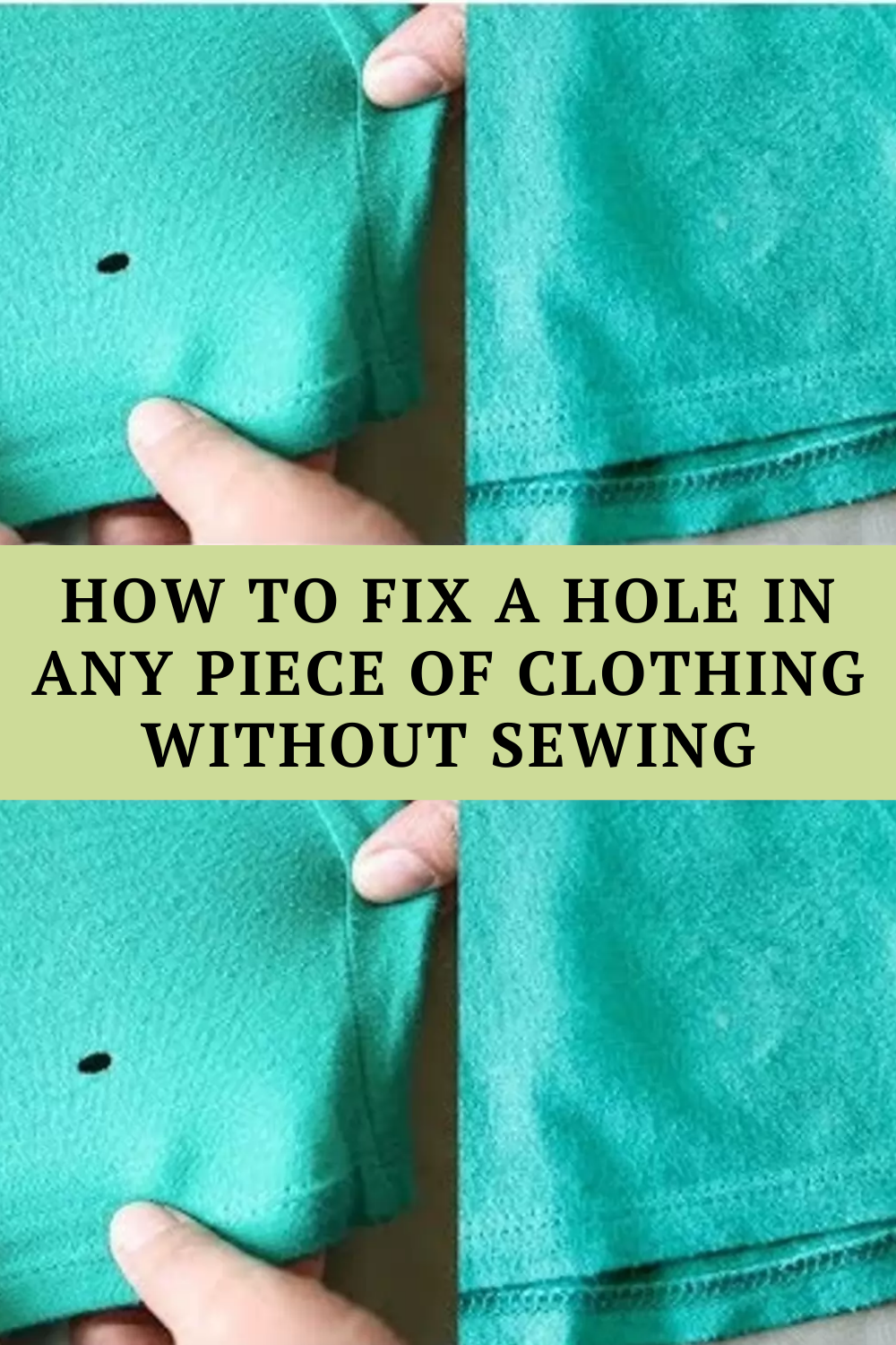 How To Fix A Hole In Any Piece Of Clothing Without Sewing Short Moral Stories Inspirational Short Stories Spotlight Stories