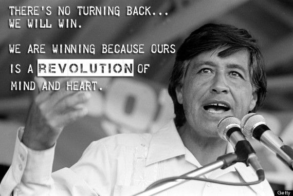 Cesar Chavez S Words Of Wisdom Are All The Inspiration You Ll Need Today Cesar Chavez Quotes Cesar Chavez Immigration Quotes