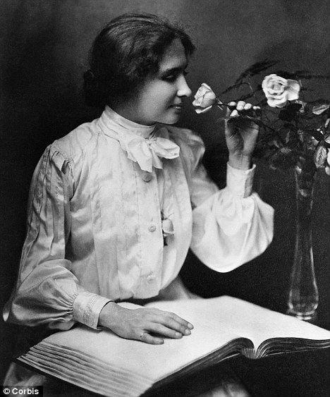 6 Sizes! Author /& Activist Hellen Keller with Teacher Anne Sullivan New Photo