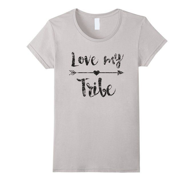 6e31e3048 Amazon.com: Love My Tribe Shirt, Mom, Bride, Team, Reunion Gift: Clothing