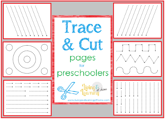 by amy maze trace and cut pages for preschoolers so cute homeschool ihsnet finemotorskills. Black Bedroom Furniture Sets. Home Design Ideas
