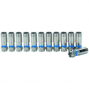 12 piece coaxial compression fittings