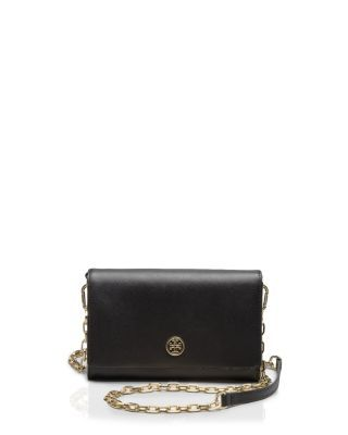 266e6990524a TORY BURCH Robinson Metallic Wallet On A Chain Crossbody.  toryburch  bags   shoulder bags  leather  crossbody  metallic