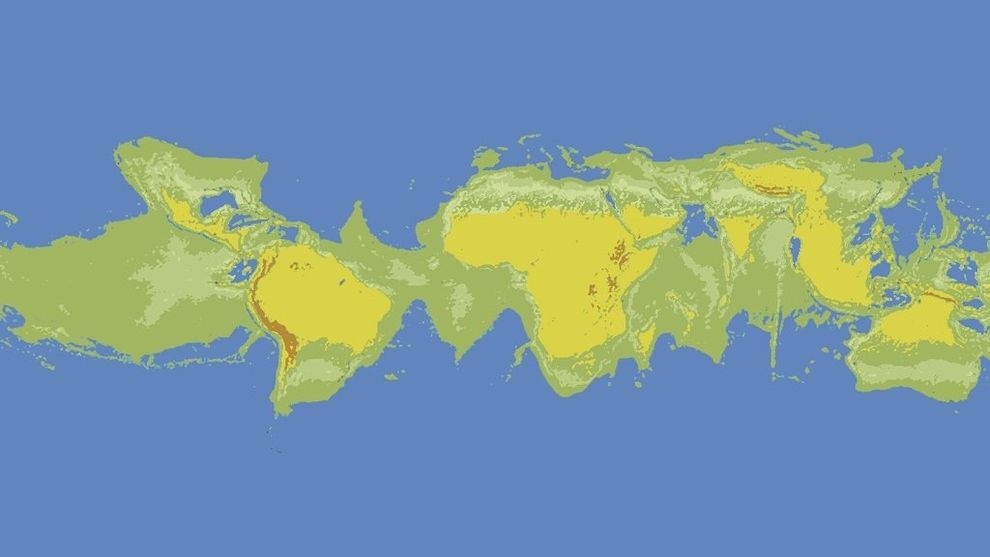What the worlds oceans would look like if the world stopped what the worlds oceans would look like if the world stopped spinning gumiabroncs Images