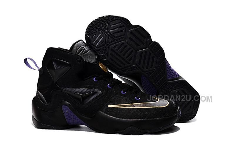 Buy 2016 Nike Kids Basketball Sneakers Lebron 13 Gold Purple Black Online  from Reliable 2016 Nike Kids Basketball Sneakers Lebron 13 Gold Purple  Black ... 663cf8ddf