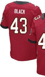 the latest 65359 10b11 $78.00--Ahmad Black Jersey - Elite Red Home Nike Stitched ...