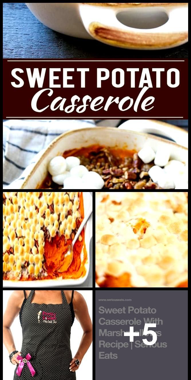 Sweet Potato Casserole with Marshmallows Recipe #sweetpotatocasserolewithmarshmallows Sweet Potato Casserole with Marshmallows Recipe,  #Casserole #Marshmallows #Potato #recipe #Sweet #sweetpotatocasserolewithmarshmallows