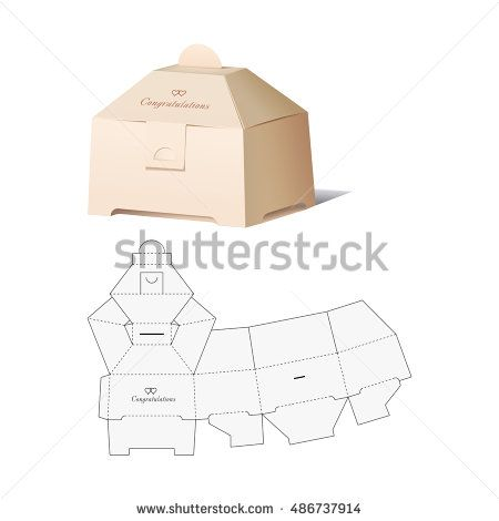Retail box with blueprint template embalagens pinterest retail retail box with blueprint template malvernweather Gallery