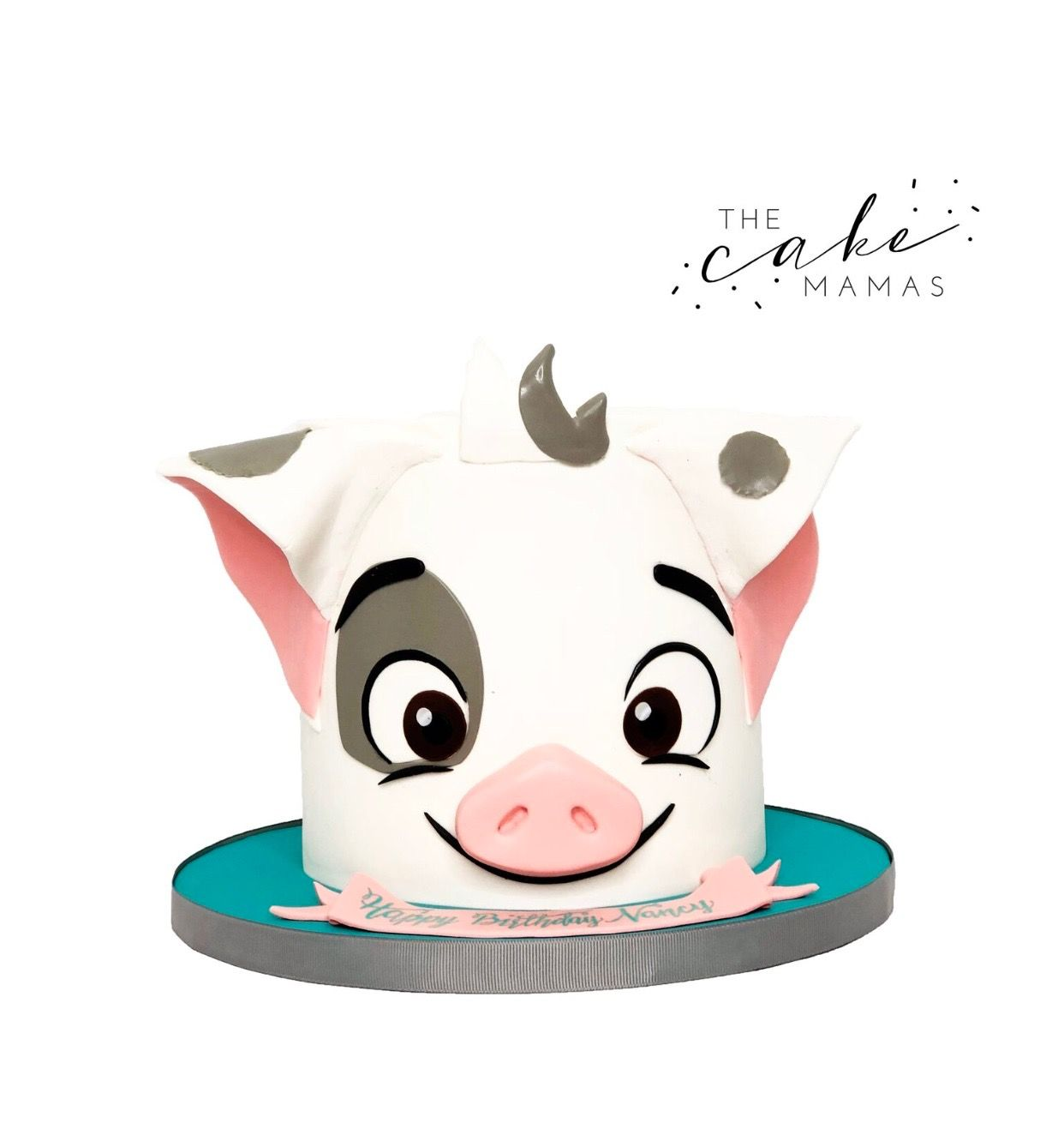 Disney's Moana Pua cake! Call or email to order your birthday