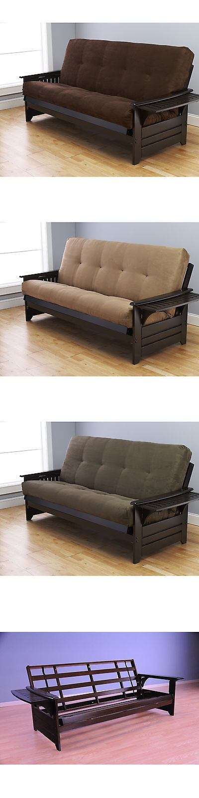 Futons Frames And Covers 131579 Somette Phoenix Queen Size Futon Sofa Bed With Hardwood Frame
