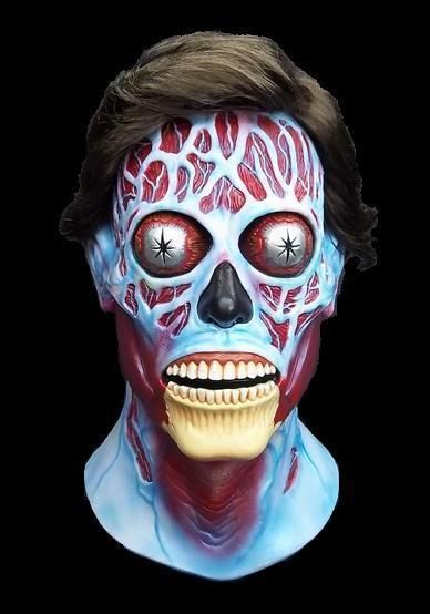 Adult Men/'s They Live Sci-Fi Movie Latex Halloween Cosplay Costume Alien Mask