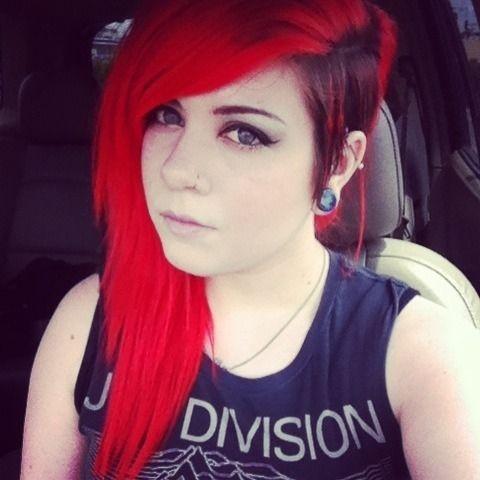 Red/Black Undercut.