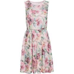 Jerseykleid mit Spitze ohne Ärmel in rosa für Damen von bonprix Bodyflirtbodyflirt #rosaspitzenkleider