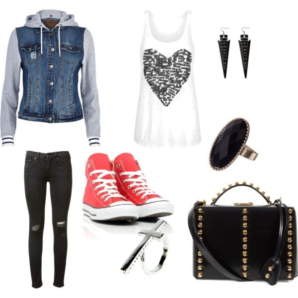 edgy outfit | Edgy outfits, Fashion, Cool outfits