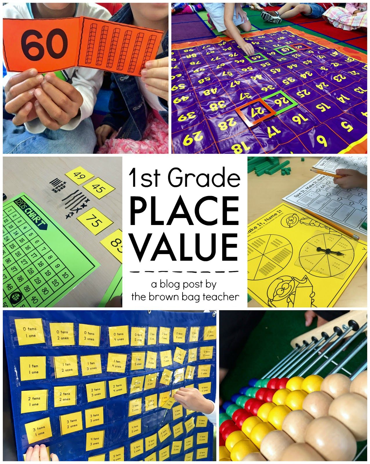 Place Value 1st Grade Centers
