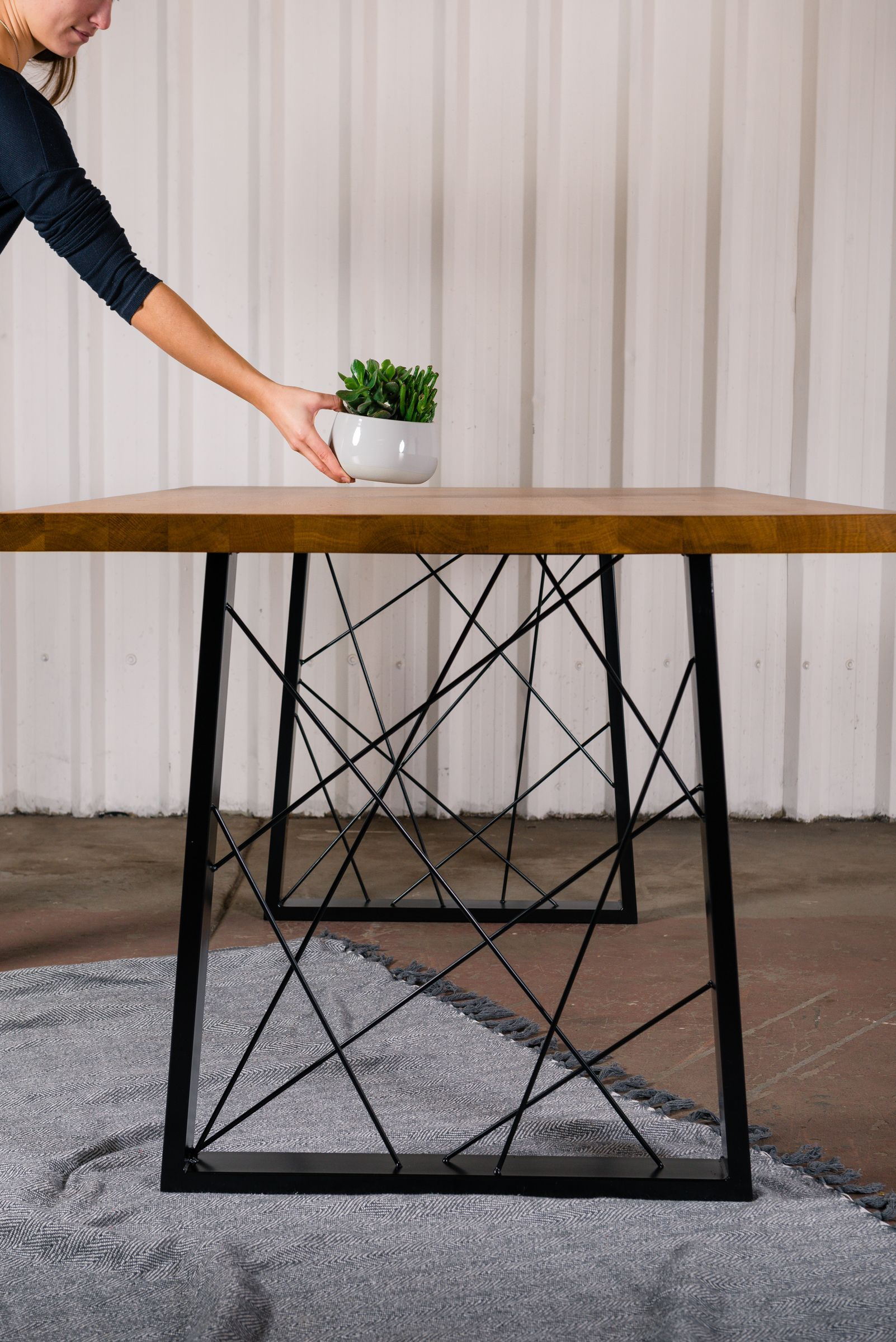Create Your Own Dining Table With These Art Deco Geometric Table
