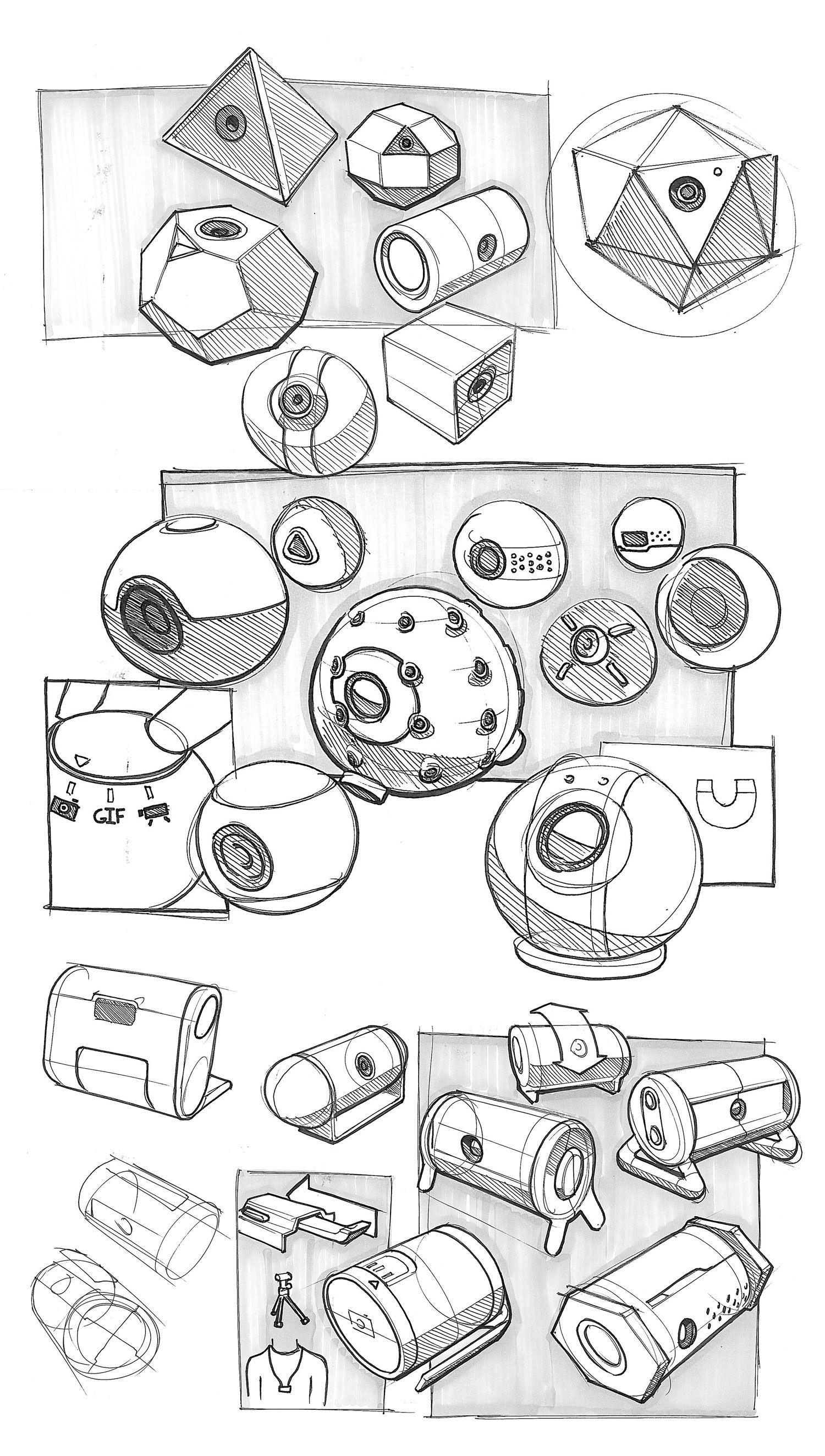 Camera Industrial Design Sketch Collage Drawings Jpg 1500 2647 Industrial Design Sketch Design Sketch Industrial Design