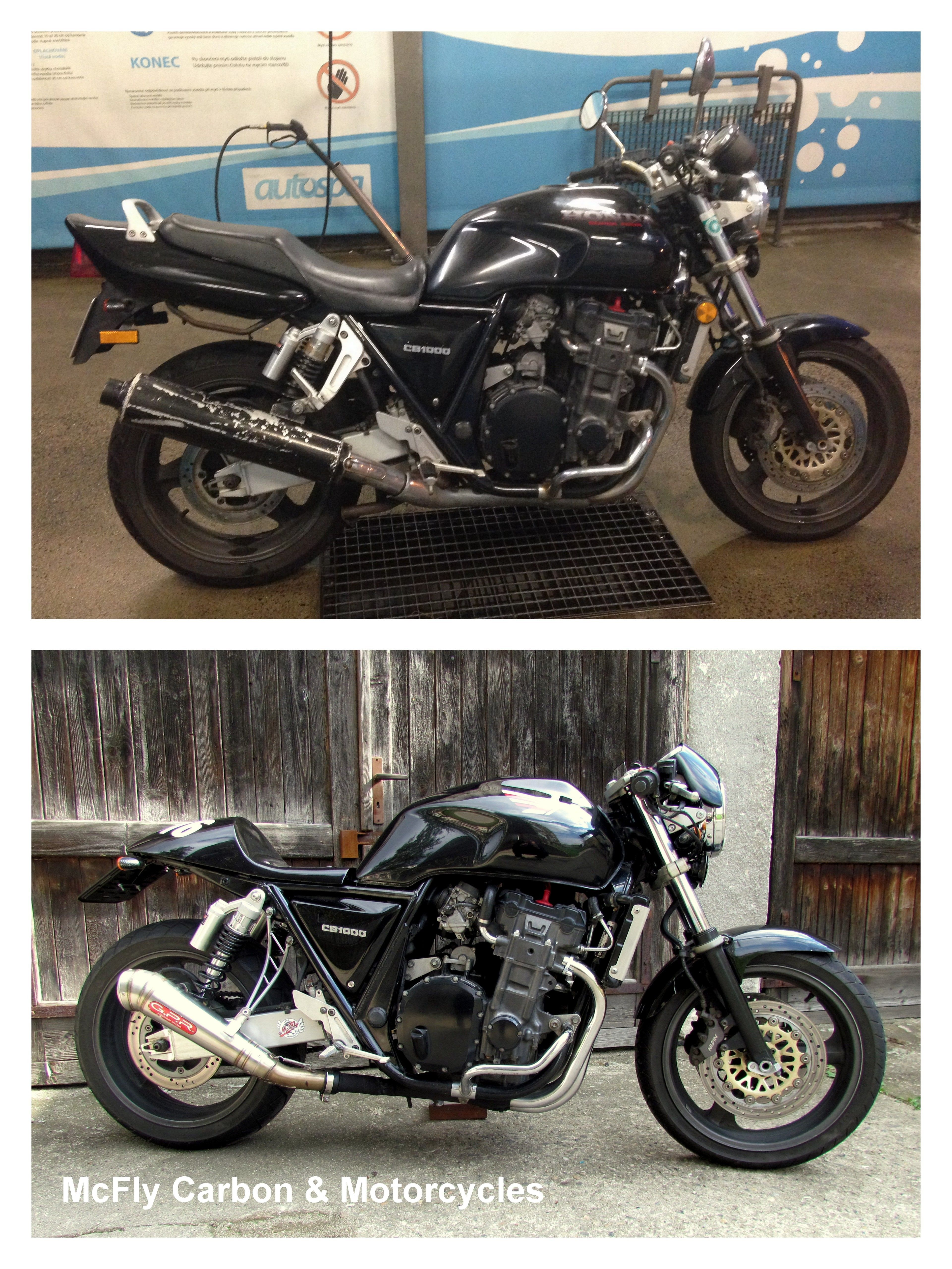Cafe Racer Honda Cb1000 Custom Motorcycles