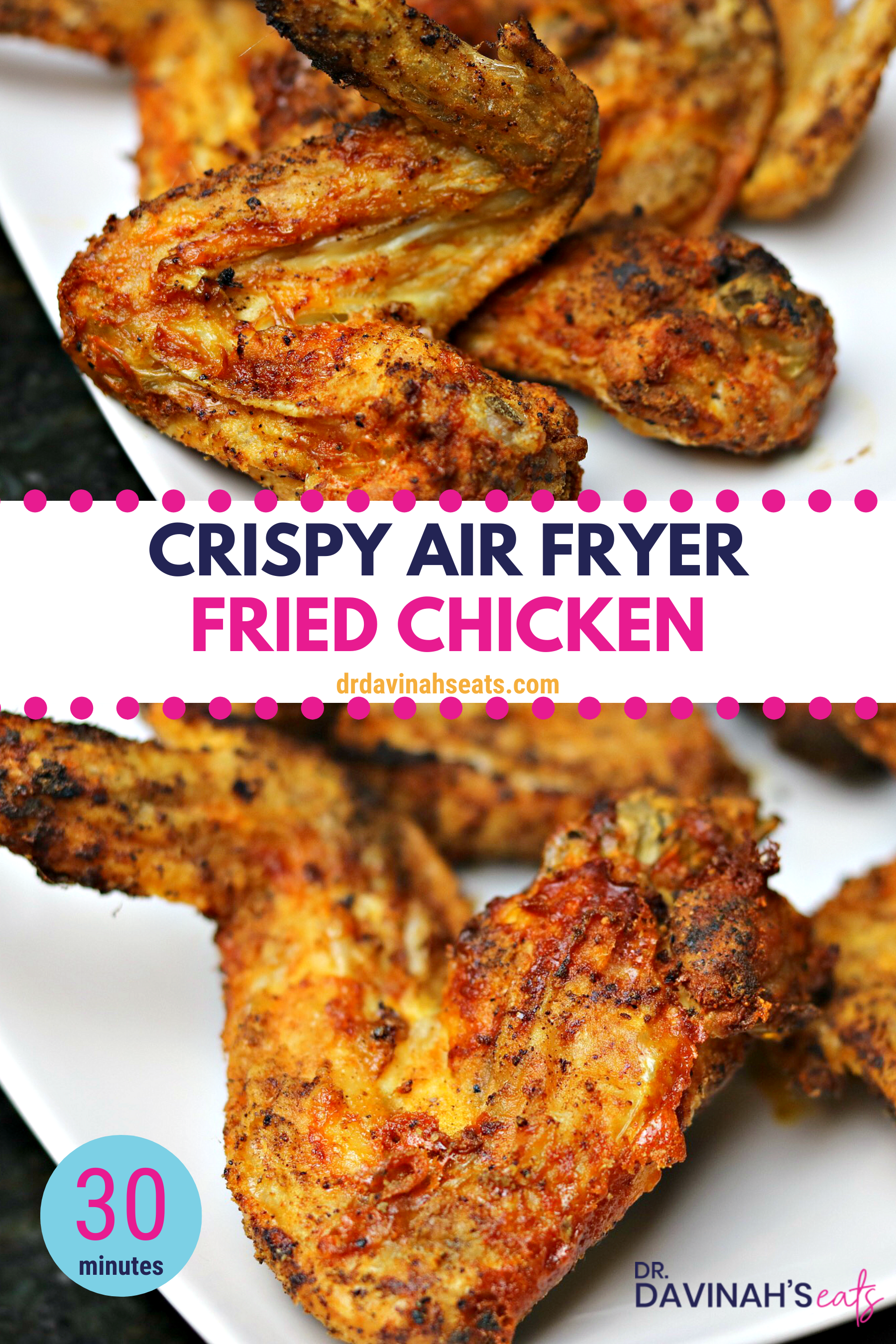 Ninja Air Fryer Fried Chicken Wings Recipe Chicken