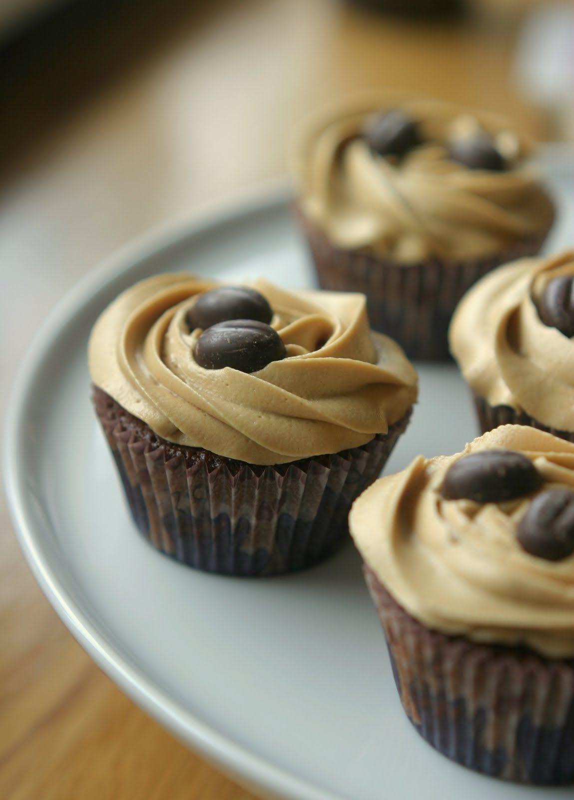 Marias Salt og Søtt: Mocca Cupcakes