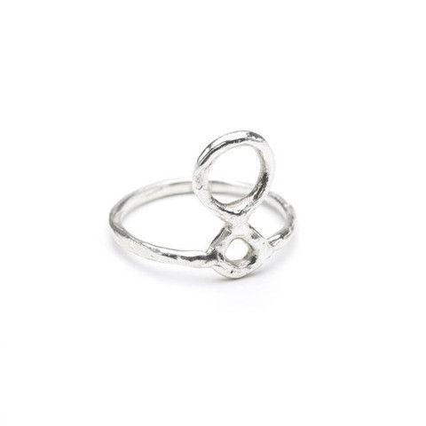Sterling Totem Ring - Odette, NY - Half Hitch Goods