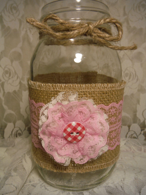 Free shipping rustic burlap mason jar sleeves wedding mason jars