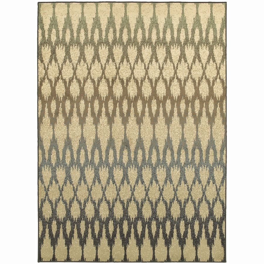 Archer Lane Heather Ivory Rectangular Indoor Machine-Made Nature Area Rug (Common: 8 x 10; Actual: 7.8-ft W x 10-ft L x 0-ft Dia)