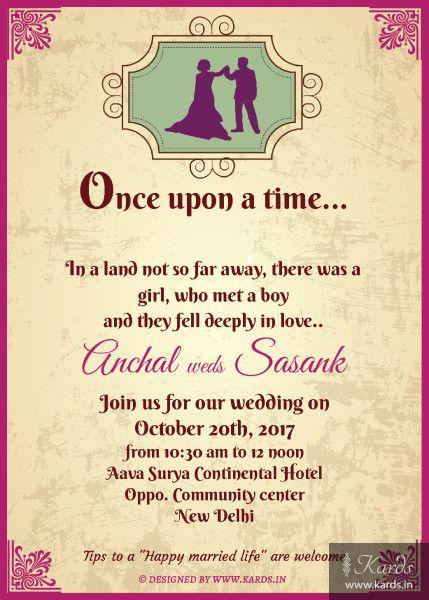 Fairy Tale Indian Wedding Invitation Card Indian Wedding Invitation Cards Indian Wedding Invitations Wedding Invitation Cards