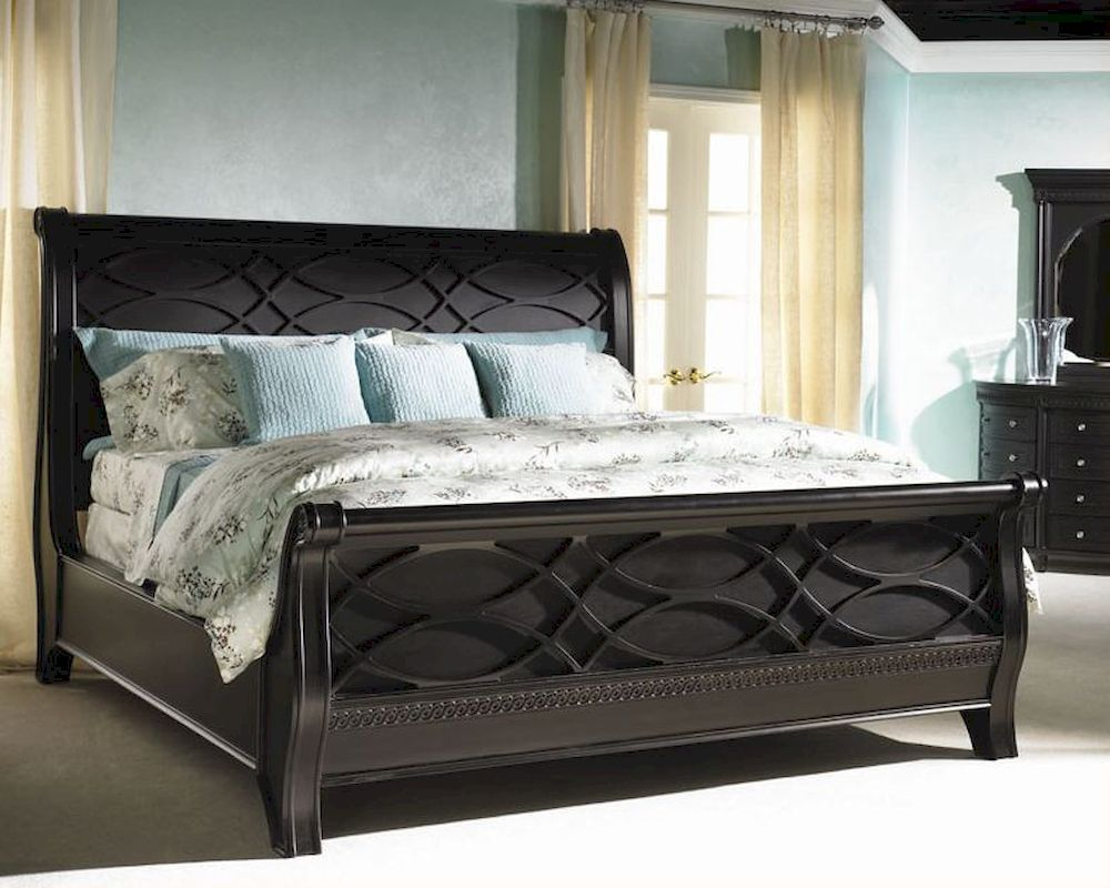 Aspen New Bedford Sleigh Bed Young Classic As88 40 2 Home