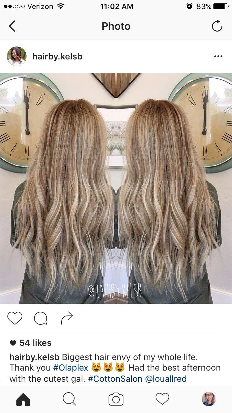 Dirty blonde balayage  Hair inspiration (:  Long hair styles