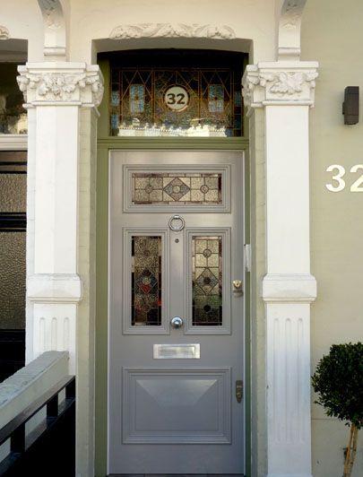 London Doors Front Door Victorian Edwardian Door Architectural