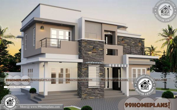 Best Contemporary House Design 90 Small Double Storey Houses