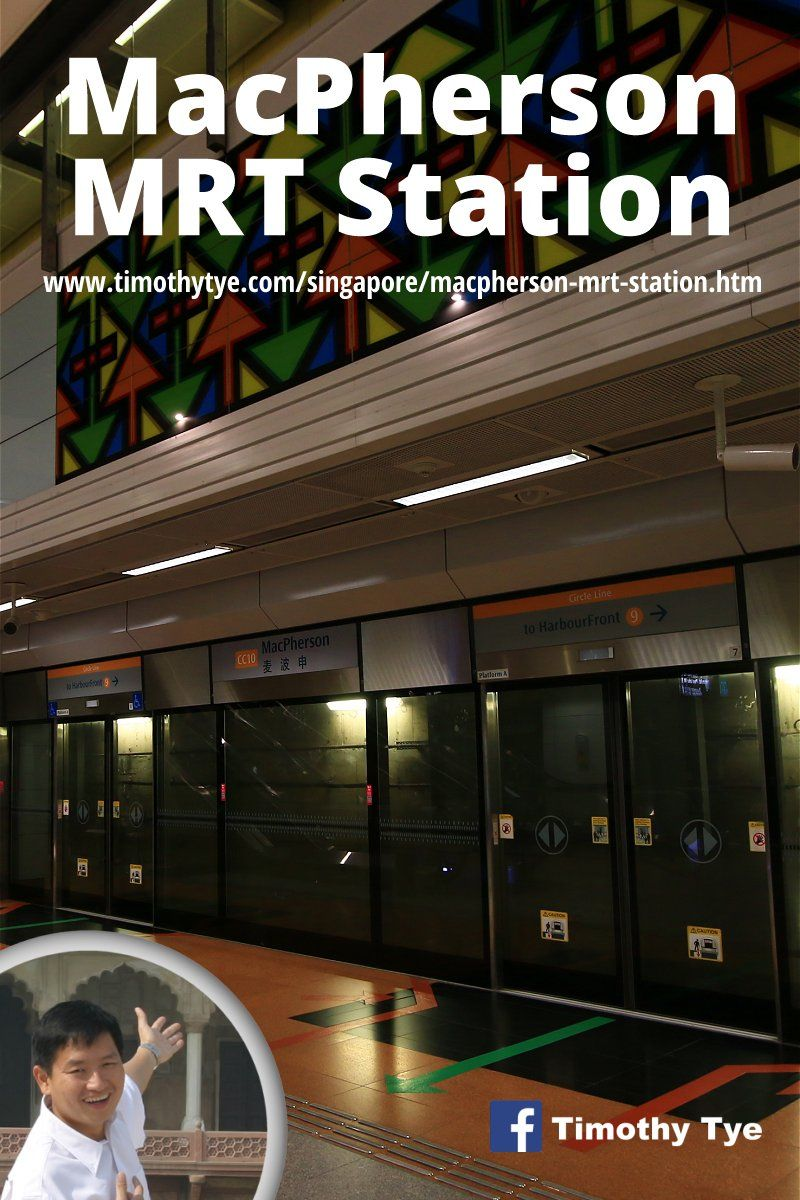 MacPherson MRT Station (CC10) Station, Singapore, Geylang