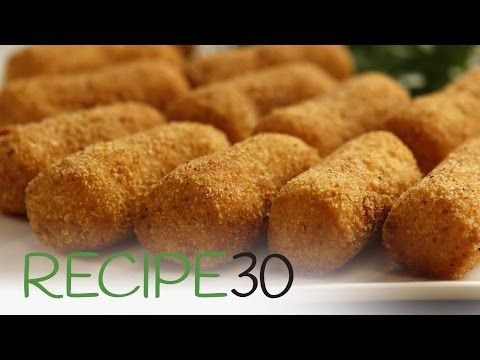 Potato Croquettes – Easy Meals with Video Recipes by Chef Joel Mielle
