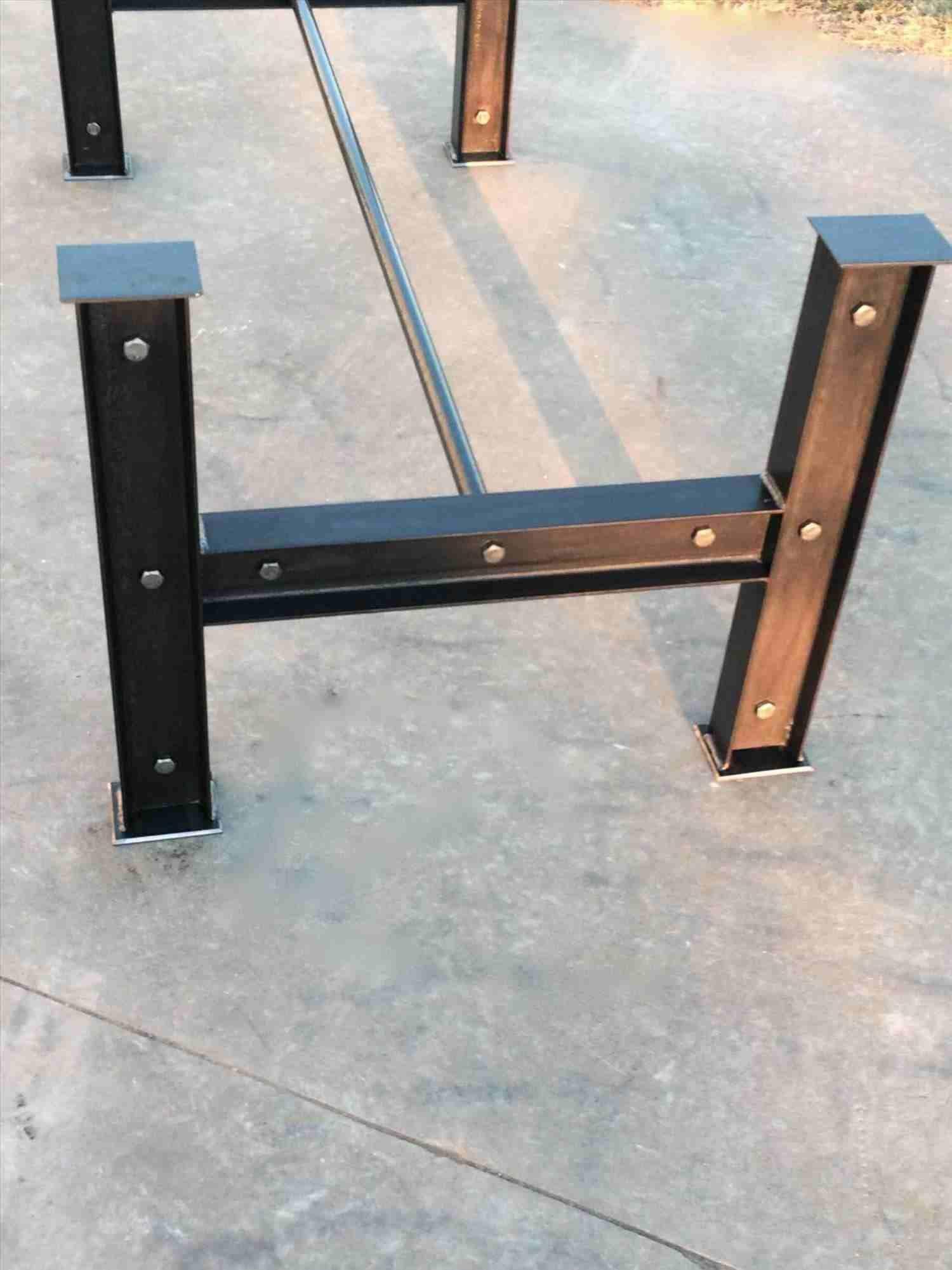 Diy Metal Coffee Table Legs Coffee Table Legs Cfee Diy Pallet