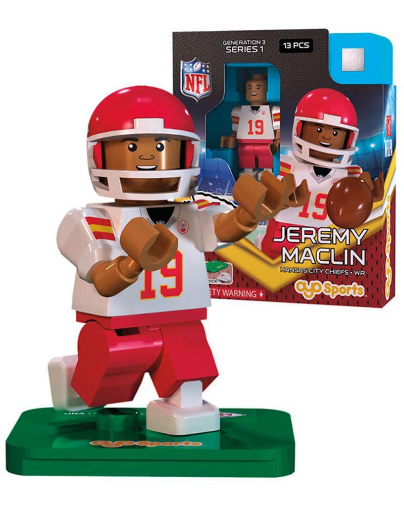 Chiefs jeremy maclin minifigure sportsfan jeremy