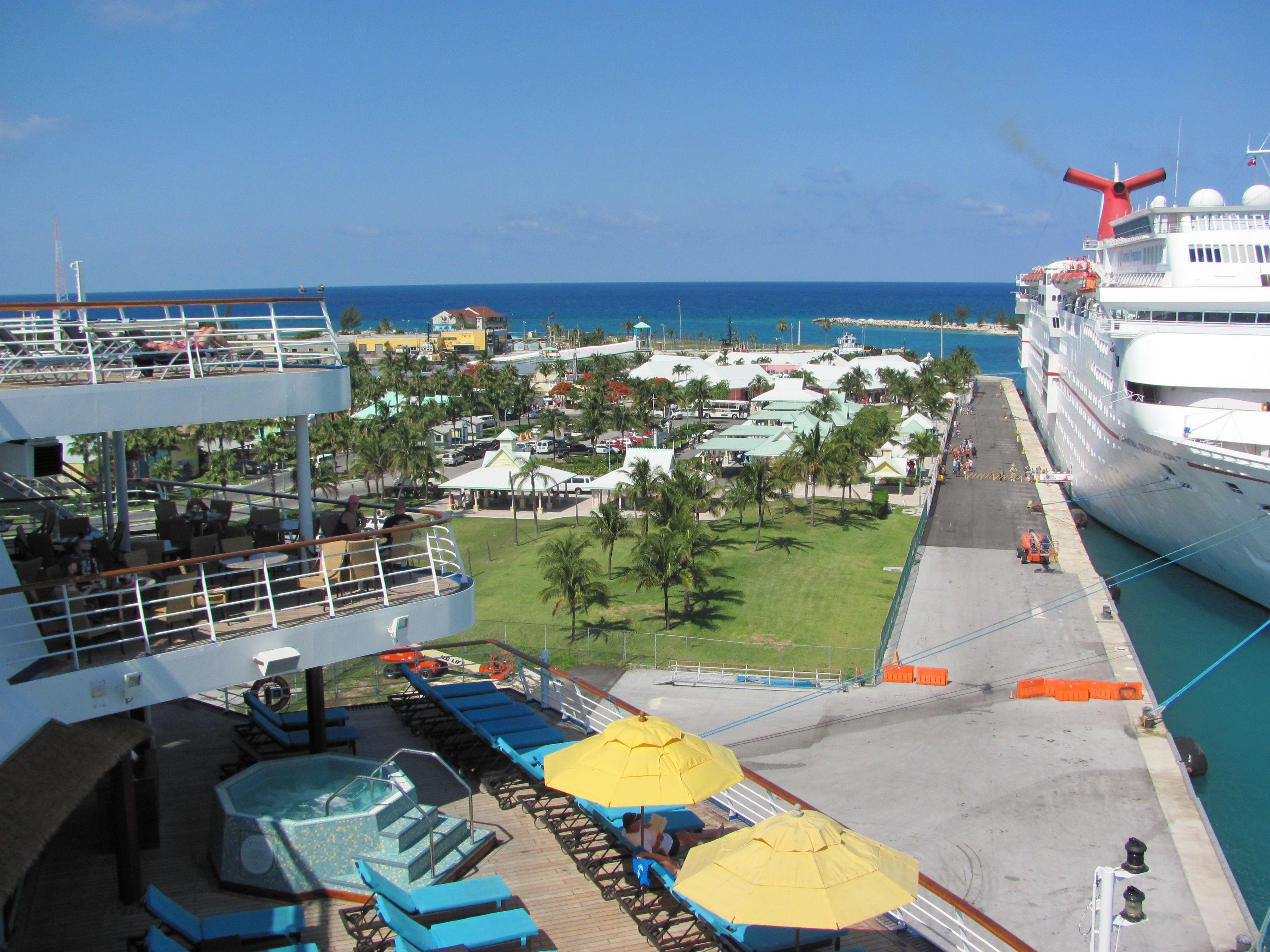 Carnival Fantasy in Freeport Bahamas  Grandeur of the